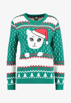 LADIES CHRISTMAS - Jumper - x-masgreen