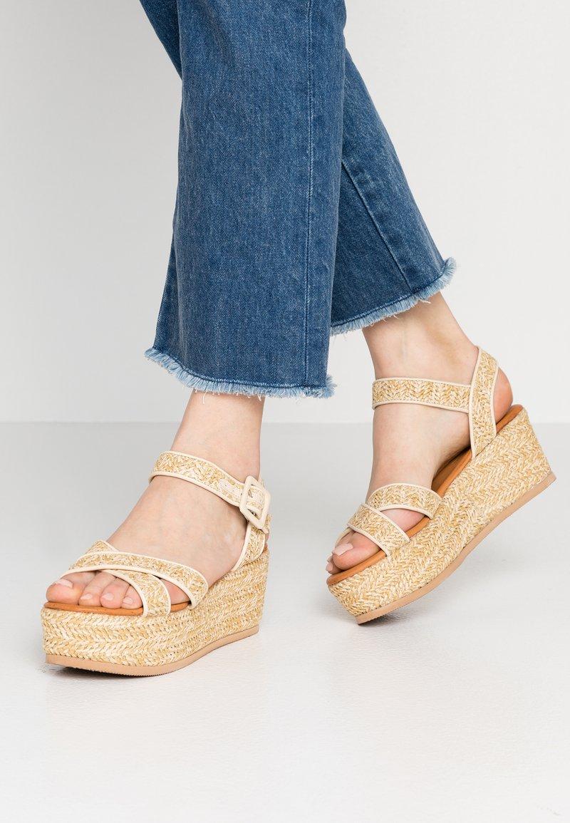 Tata Italia - Platform sandals - beige