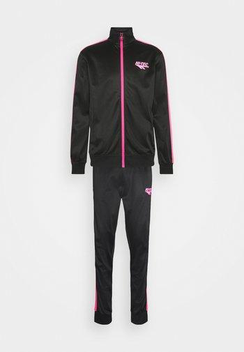 GATLIN TRACKSUIT - Survêtement - black/pink