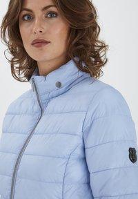 Fransa - Winter jacket - brunnera blue - 3
