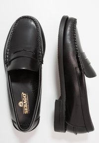 Sebago - DAN WAXY - Smart slip-ons - black - 1