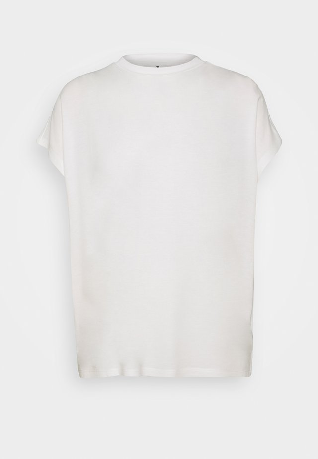 T-shirt z nadrukiem - whisper white