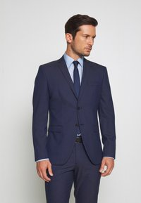 Selected Homme - SLHSLIM MYLOLOGAN SUIT SET - Traje - blue - 2
