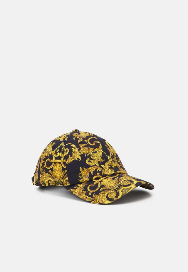 UNISEX - Cap - black/gold