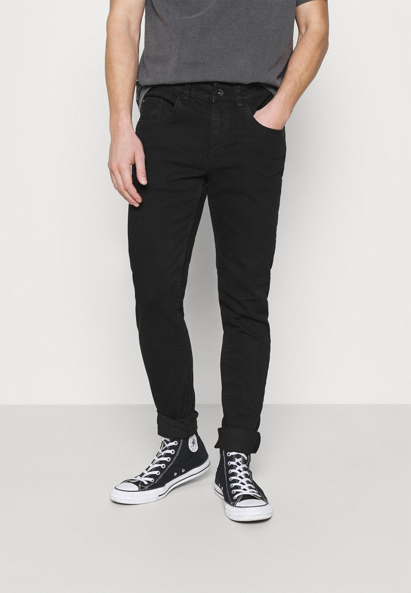 Redefined Rebel - LYON JEANS  - Jeans Skinny Fit - deep black