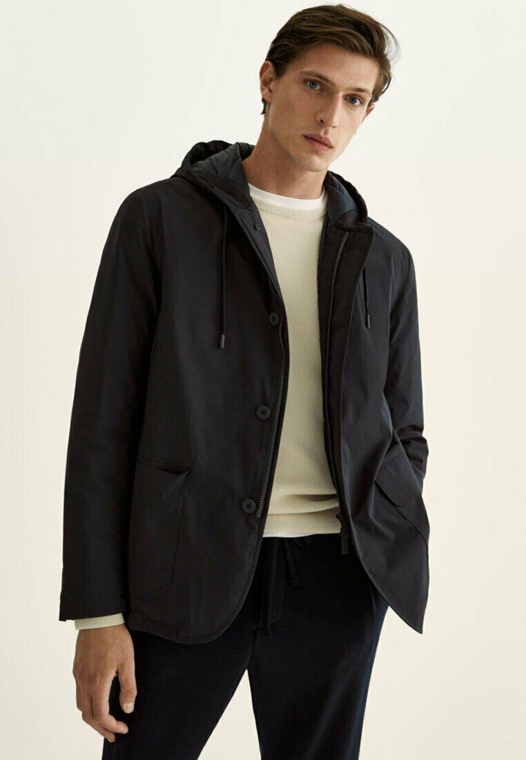 Massimo Dutti - Light jacket - dark blue