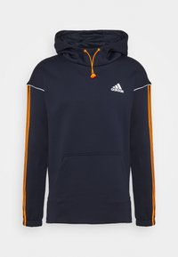 adidas Performance - Hoodie - legend ink/signal orange - 3