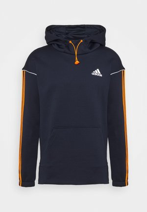 Kapuzenpullover - legend ink/signal orange