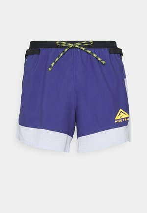 TRAIL - Shorts outdoor - ghost/purple dust/university gold