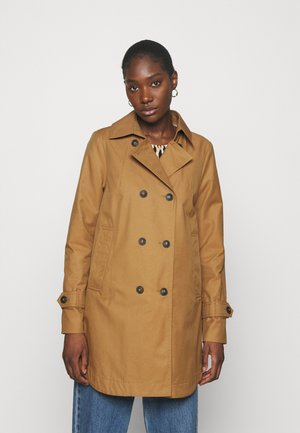 CITY - Short coat - caramel