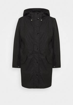 VMFRIDAYMUSIC COATED JACKET - Parkatakki - black