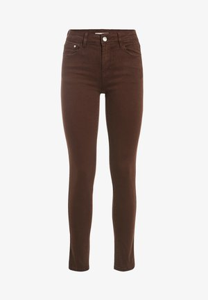 Trousers - marron ecorce