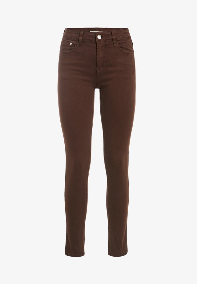 Pantaloni - marron ecorce