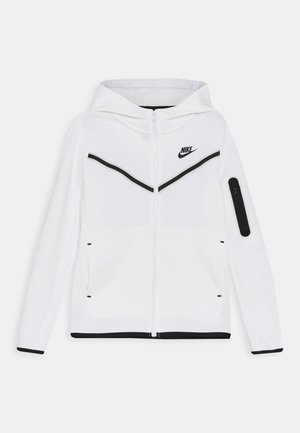 Mikina na zip - white/black
