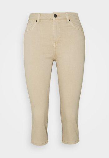 CAPRI - Denim shorts - beige
