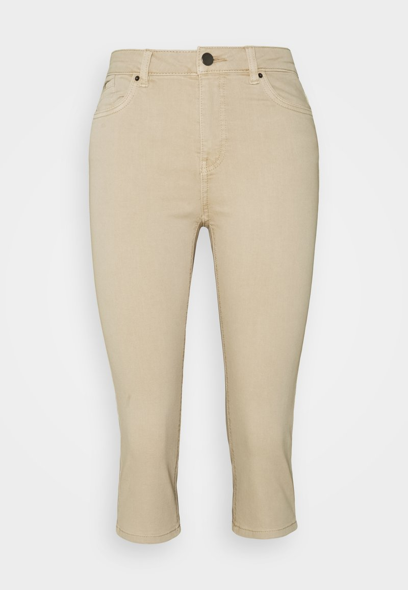 edc by Esprit - CAPRI - Szorty jeansowe - beige
