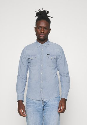 WESTERN - Shirt - skyway blue