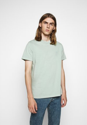 TROY - Basic T-shirt - frosty green