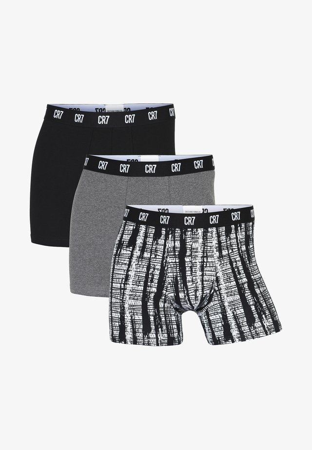 3 PACK - Boxer shorts - grey