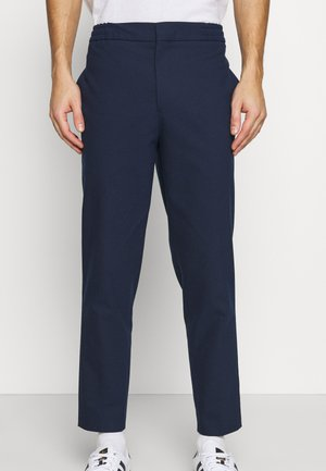SLHSLIMTAPE MELVIN PANTS - Trousers - dark blue