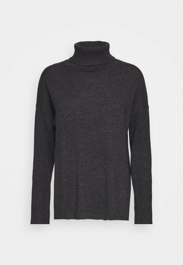 TURTLENECK - Svetr - graphite