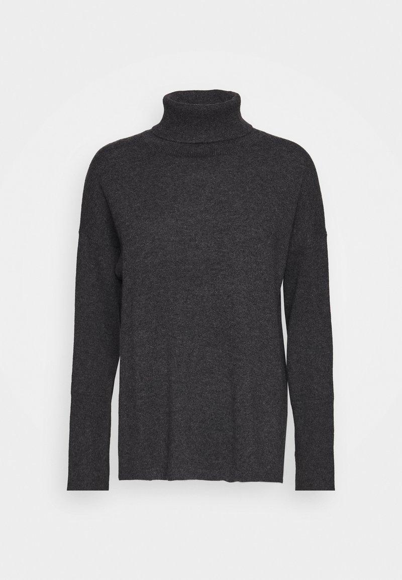 pure cashmere - TURTLENECK - Jumper - graphite