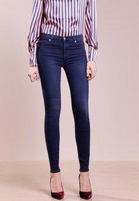 7 for all mankind - HIGHTWAIST - Jeans Skinny - indigo - 0