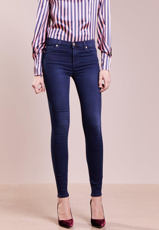 HIGHTWAIST - Jeans Skinny - indigo