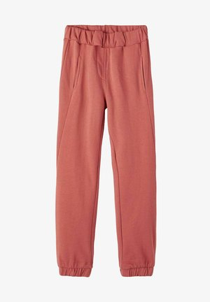 Tracksuit bottoms - etruscan red