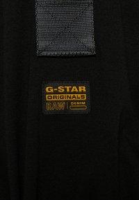 G-Star - A-LINE DUNGAREE CAMO AO DRESS - Jersey dress - black - 3