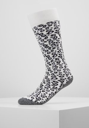 SKISOCK ANIMAL PRINT - Sports socks - white