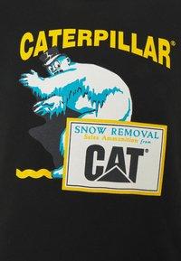 Caterpillar - ICE MAN GRAPHIC - Bluza - black - 2