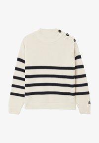 BONDELID - Jumper - offwhite stripe - 0