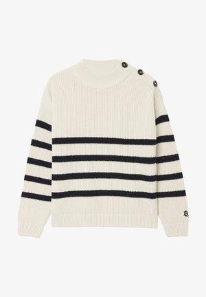 Jumper - offwhite stripe