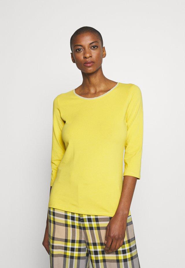 MULTIA - Bluzka z długim rękawem - gelb
