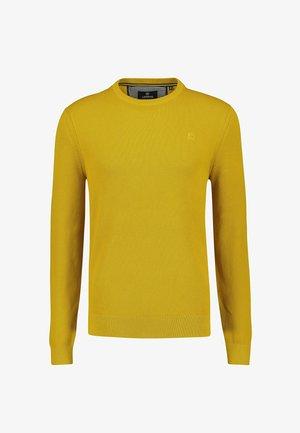 BASIC  - Jumper - oily yellow