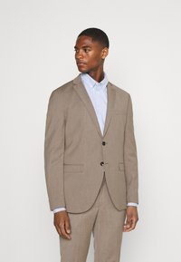 Selected Homme - SLHSLIM MYLOBILL STRUCTURE SUITE - Traje - sand - 5