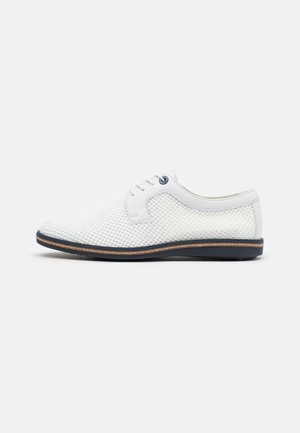 GAMBIA - Casual lace-ups - white