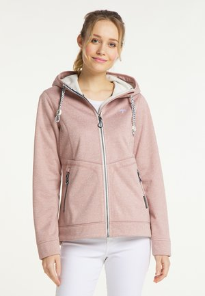 Waterproof jacket - nude melange