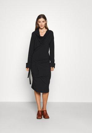 CLIFF DRESS - Jersey dress - black