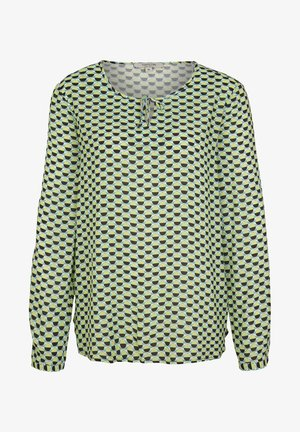 Long sleeved top - offwhite dots