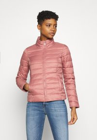 ONLY - ONLNEWTAHOE QUILTED JACKET - Light jacket - withered rose - 0
