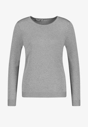 LANGARM RUNDHALS - Sweatshirt - grey melange