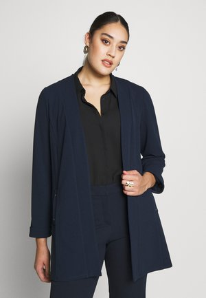 NAVY STUD DETAIL JACKET - Blazer - navy