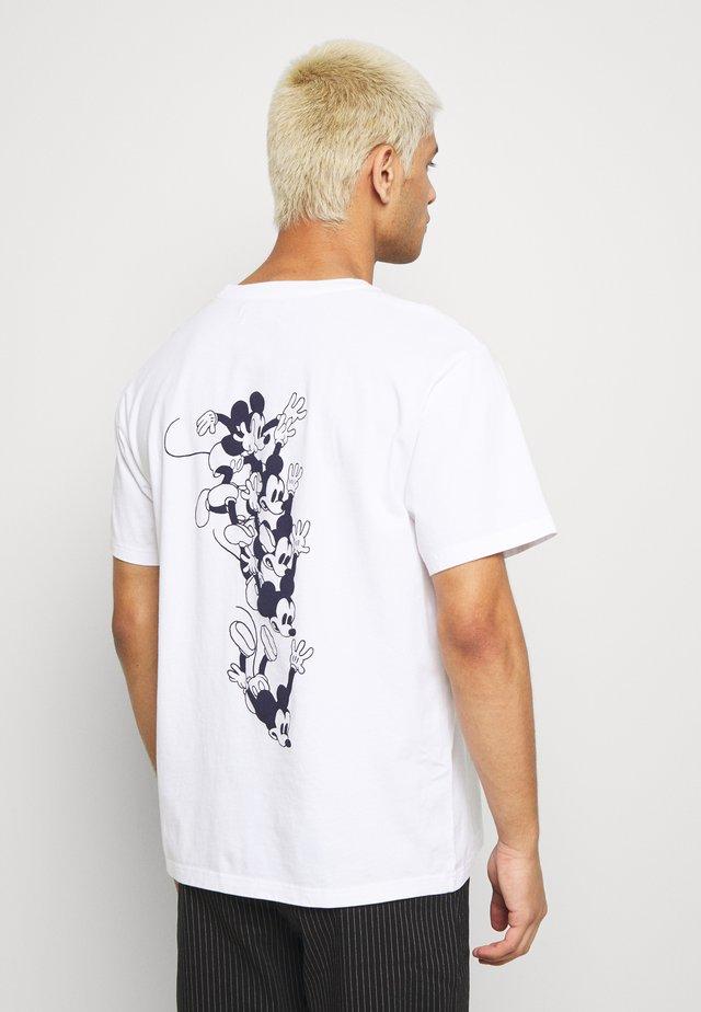x Disney BOBO - Printtipaita - bright white