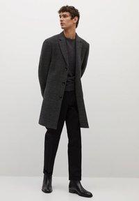Mango - UTAH - Classic coat - mittelgrau meliert - 1