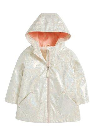 GLITTER  - Impermeable - white