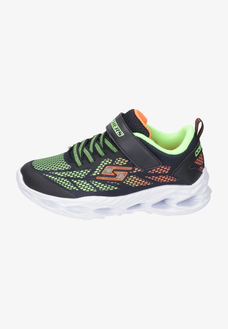Skechers - Trainers - black/lime