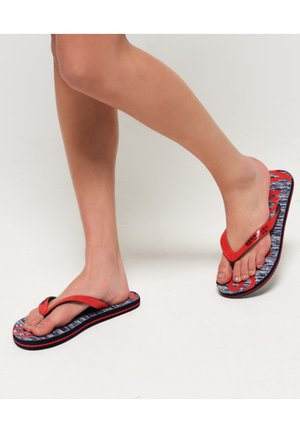 Pool shoes - red/eclipse navy