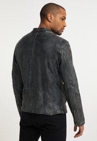 Carlo Colucci - Leather jacket - grey - 2
